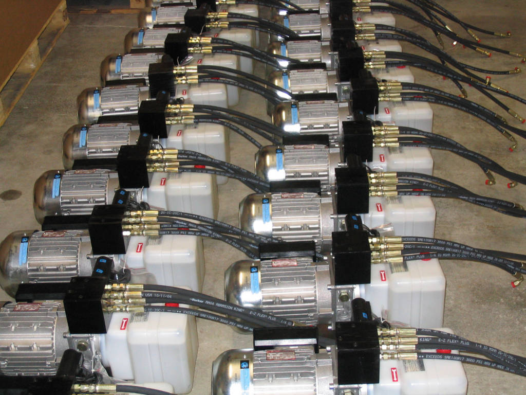 Repeat order hydraulics