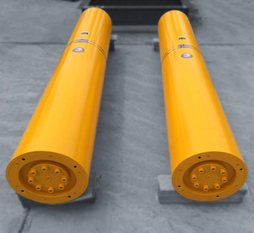 High Volume High Pressure Accumulator