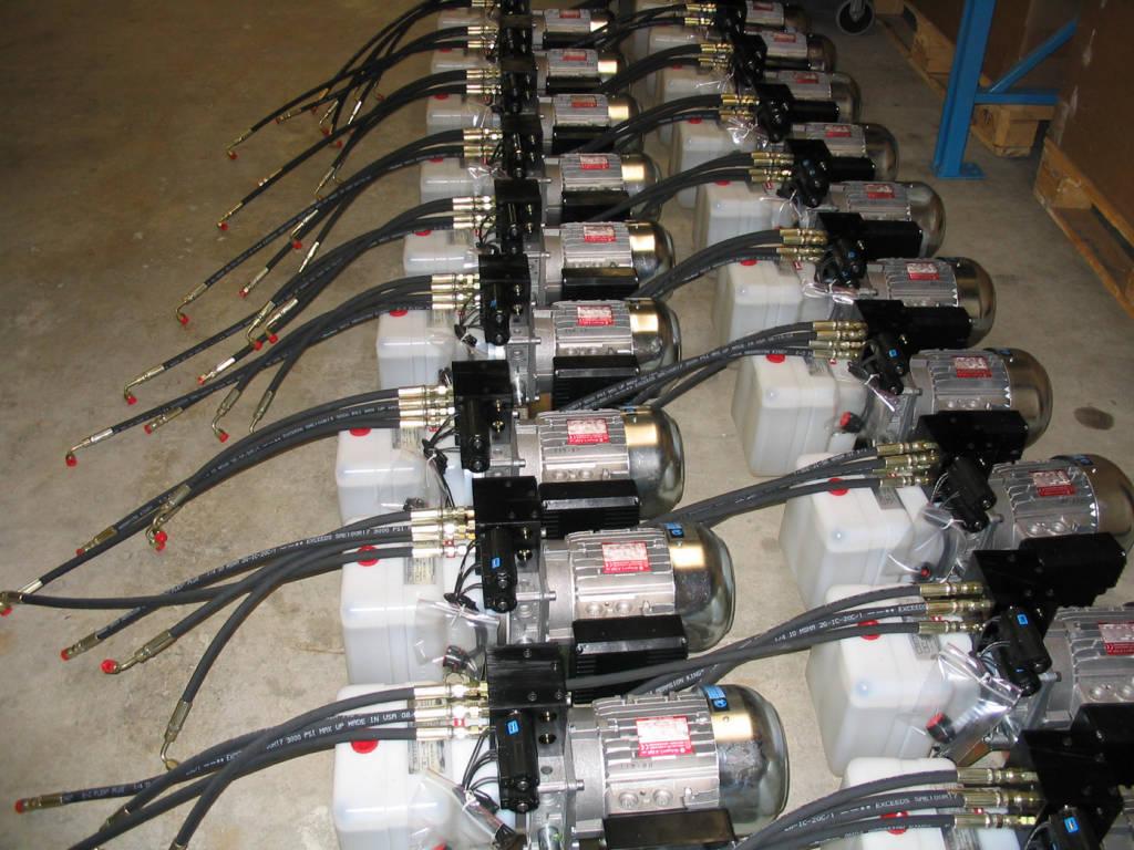 Large order fluid Power packs