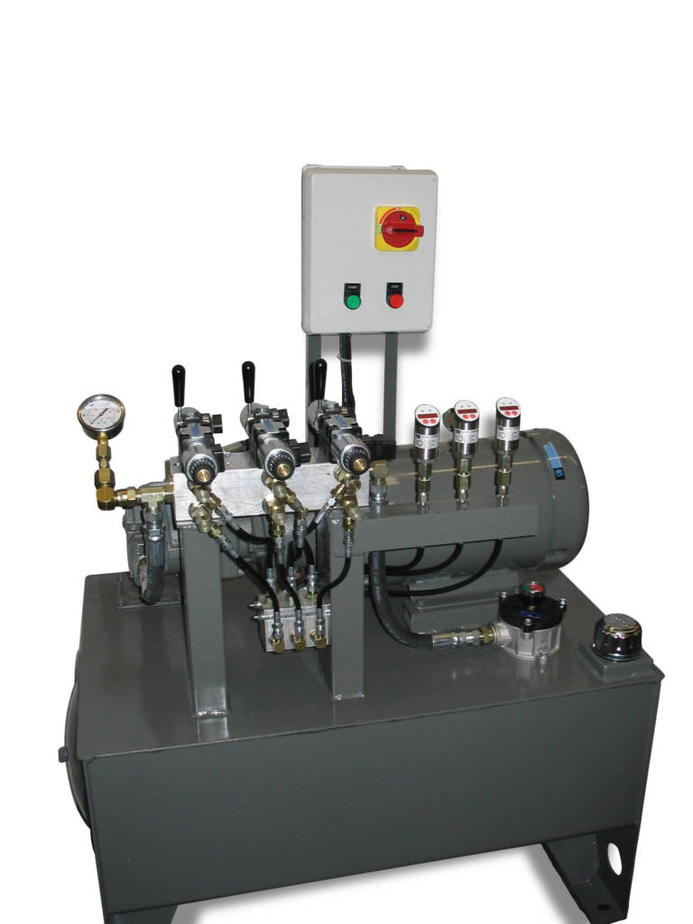Multi Stage Manual Valve Hydraulics