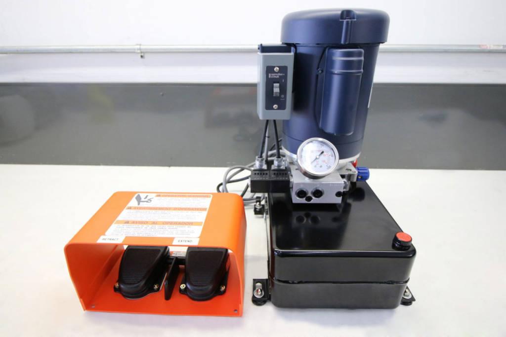 Foot control Hydraulics