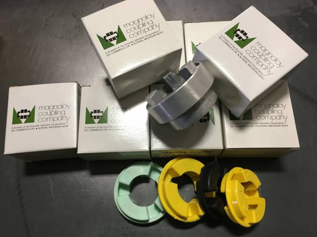 hydraulic pump to motor coupler